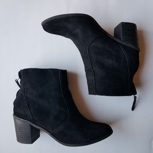 Crown Vintage Robbie Black Suede Boots